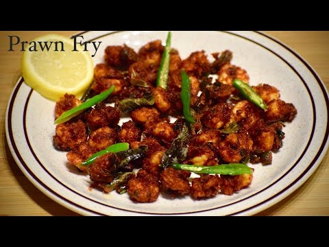 Crispy Prawns Fry   Prawns Fry   How to make Prawns Fry   KBK Kitchen