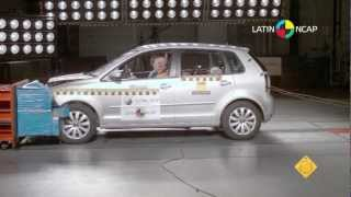 Volkswagen Polo (doble airbag) - Crash Test - LatinNCAP 2012
