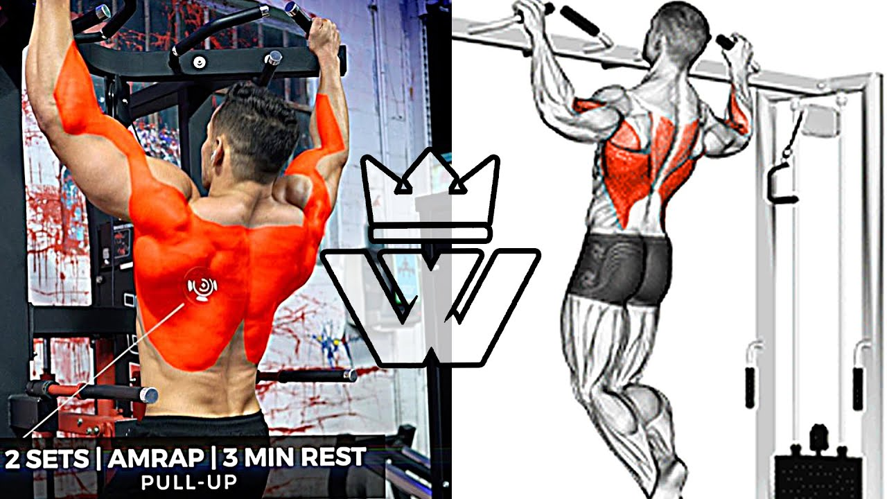 TOP-10 Exercises for V-Taper BACK WORKOUT
