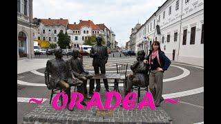 La pas prin Oradea, Romania