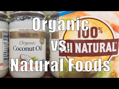 Organic vs. Natural Foods (700 Calorie Meals) DiTuro Productions