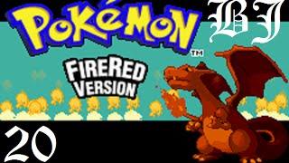 Прохождение Pokemon Fire Red - Возвращение в Лигу Покемонов и ловля Мьюту (20 эпизод  ФИНАЛ)