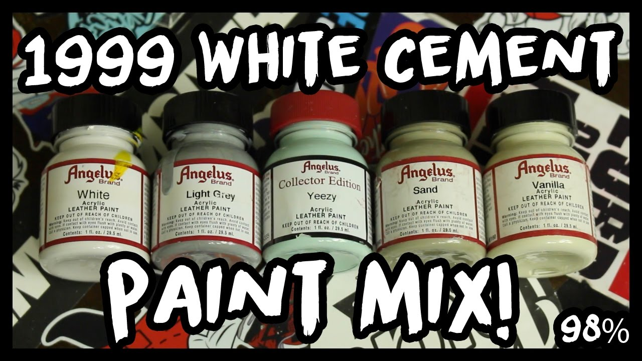 1999 white cement 4 grey paint mix how to mix it accurately