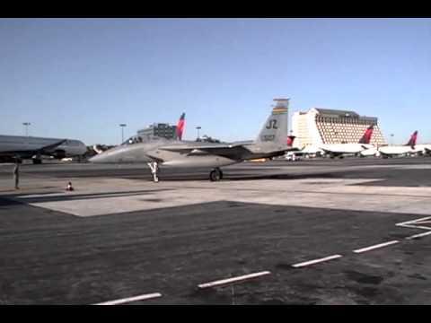 F 15C EAGLE IN ATL 2010
