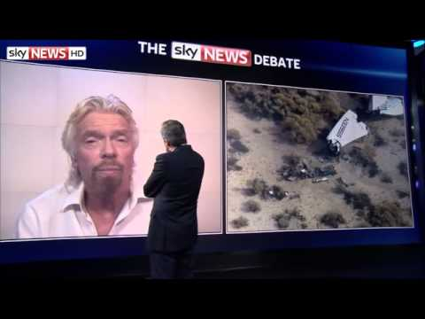 Sir Richard Branson Attacks Reporting Over Virgin Galactic Crash