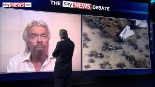 Sir Richard Branson Attacks Reporting Over Virgin Galactic Crash