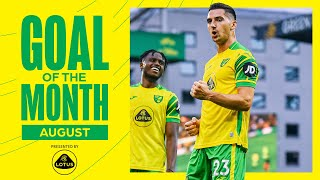 Vote for August's Lotus Goal of the Month! ⚽   Tzolis' first goal, McLean wonderstrike, TDP chip 🔥