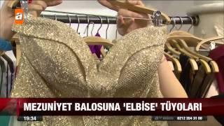 Mezuniyet balosuna 'elbise' tüyoları - 05.06.2015 - atv