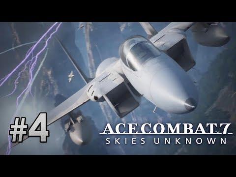 #04 超惡劣天氣下戰鬥《Ace Combat 7》
