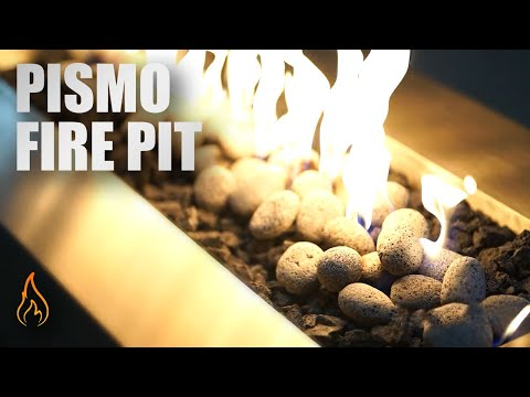 The Pismo Stainless Steel Fire Pit