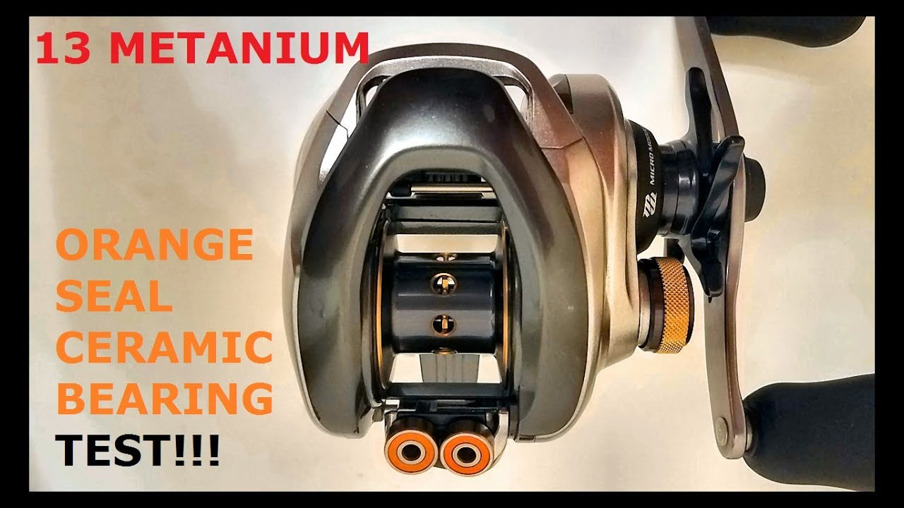 MGL HG 16 MGL XG Shimano CERAMIC #7 Super Tune bearings METANIUM MGL