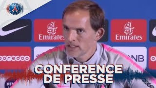 Conférence de Presse avant Nice - Paris