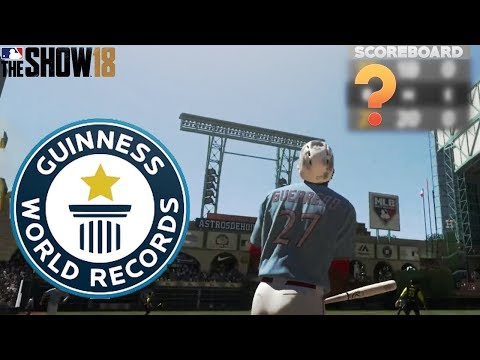 Most Runs Ever Scored In MLB 18 The Show Diamond Dynasty! 99 Immortal Vlad Leads Epic Comeback!