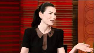 [HD] Julianna Margulies Interview On Live With Regis & Kelly 09-20-2011 (Part 2)