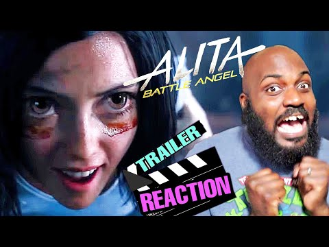 ALITA BATTLE ANGEL OFFICIAL TRAILER REACTION! / A BOX OFFICE FLOP??? #Alitabattleangel #Anime