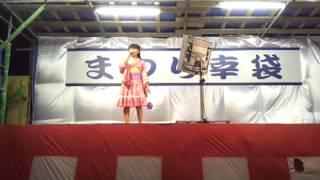 夏祭りで夏祭りを歌いました。