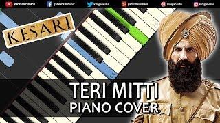 Teri Mitti Song Kesari Piano Cover Chords Instrumental By Ganesh Kini