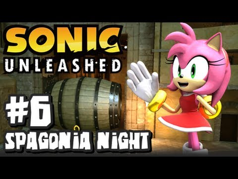 Sonic Unleashed (360/PS3) - (1080p) Part 6 - Spagonia Night