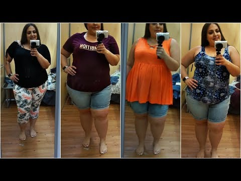 SPRING & SUMMER PLUS SIZE INSIDE THE DRESSING ROOM ft. WALMART   PLUS SIZE FASHION. http://bit.ly/2Whvfg9