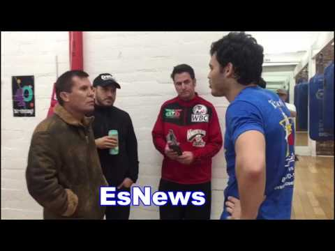 Chavez Sr Wants Chavez Jr To Watch Pacquiao vs Marquez For Canelo Fight EsNews Boxing