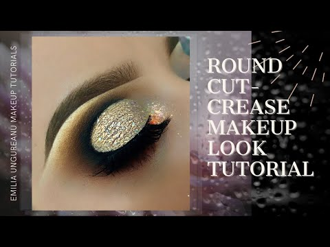 Round Cut Crease Makeup Look Tutorial
