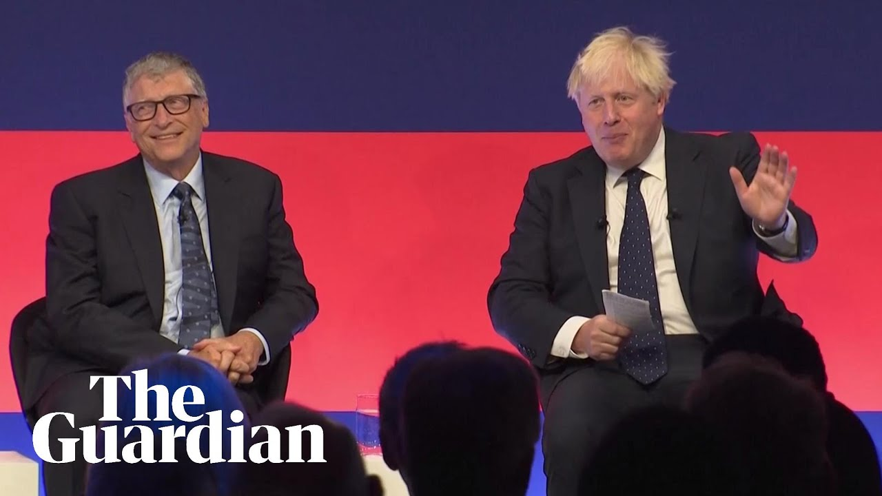 Download Bill Gates joins Boris Johnson in global 'green' investment summit – watch live