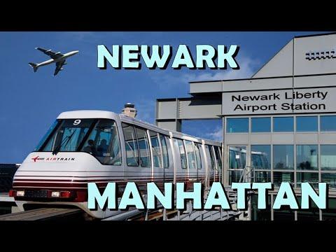 COMO SAIR DO AEROPORTO DE NEWARK PARA MANHATTAN NEW YORK DE TREM