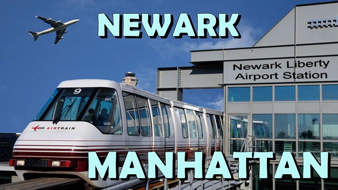 Aeroporto New York Newark : Como sair do aeroporto de newark para manhattan new york