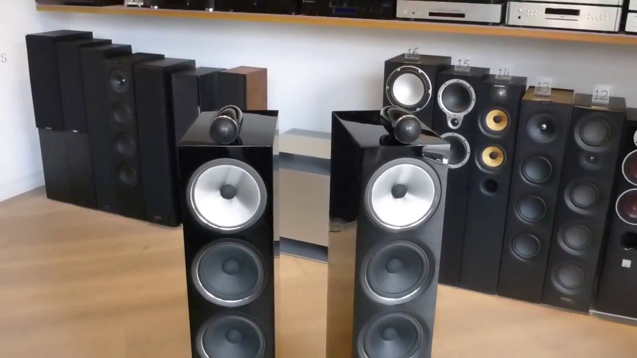 bowers wilkins 702 s2 en negro youtube
