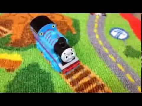 Thomas And Friends Trains Thomas And Percy On The Game Rug 2013 Holiday  Release   PleaseCheckOut   YouTube