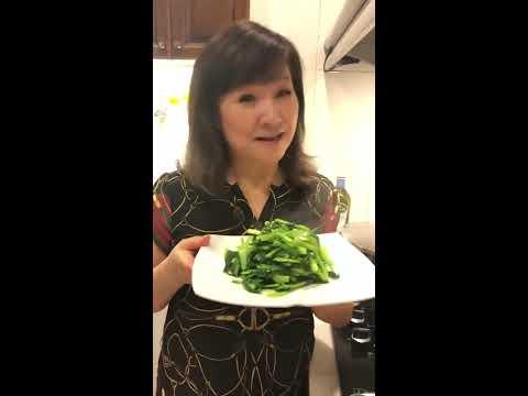 秋香廚房-水油炒青菜
