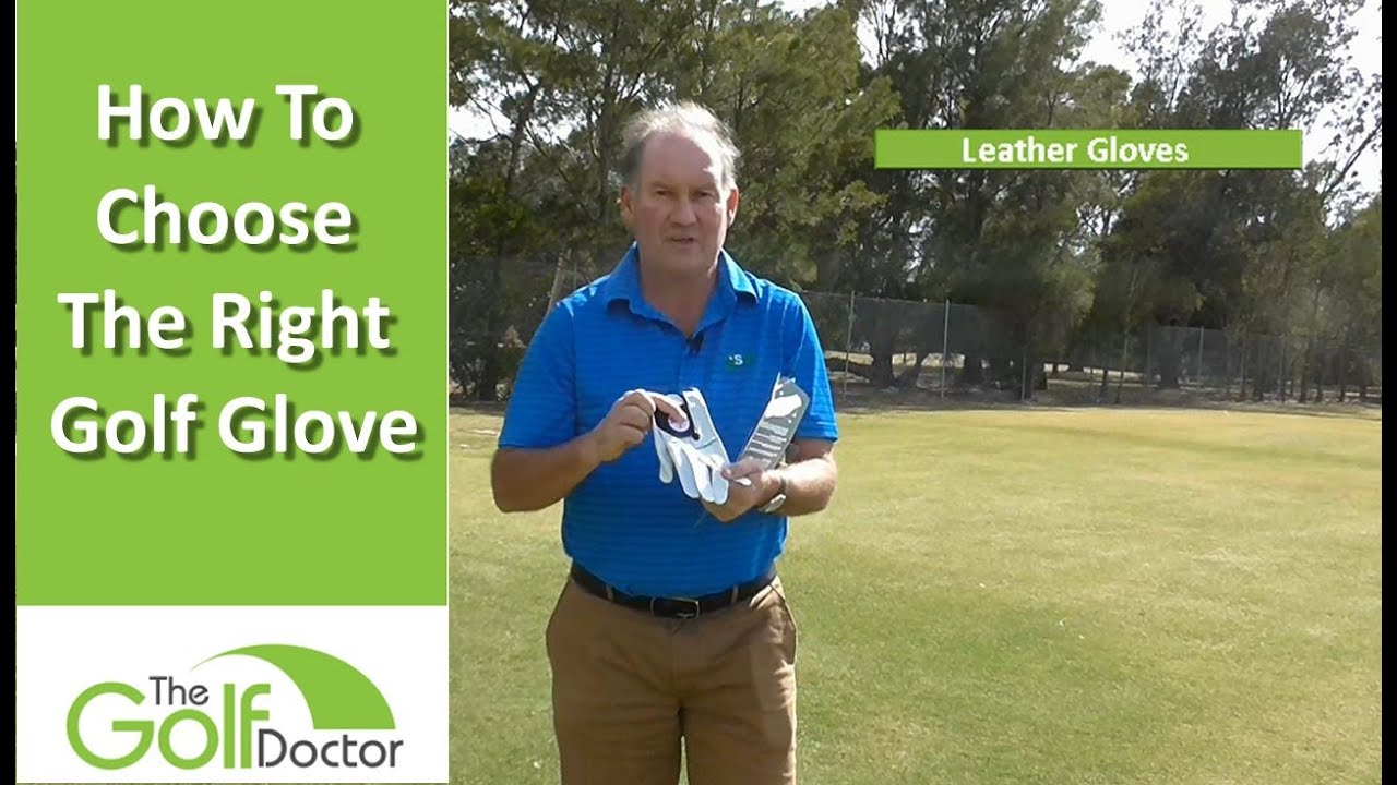 How To Choose The Right Golf Glove