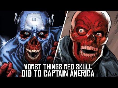 10 Worst Things Red Skull Has Ever Done To Captain America!