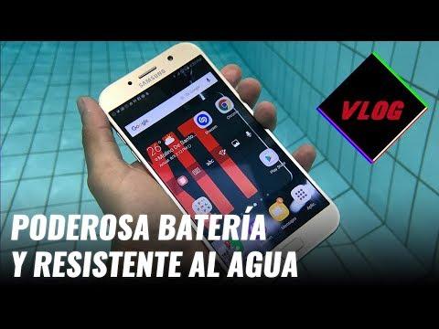 Un día completo con Samsung Galaxy A7 (2017). Review en español