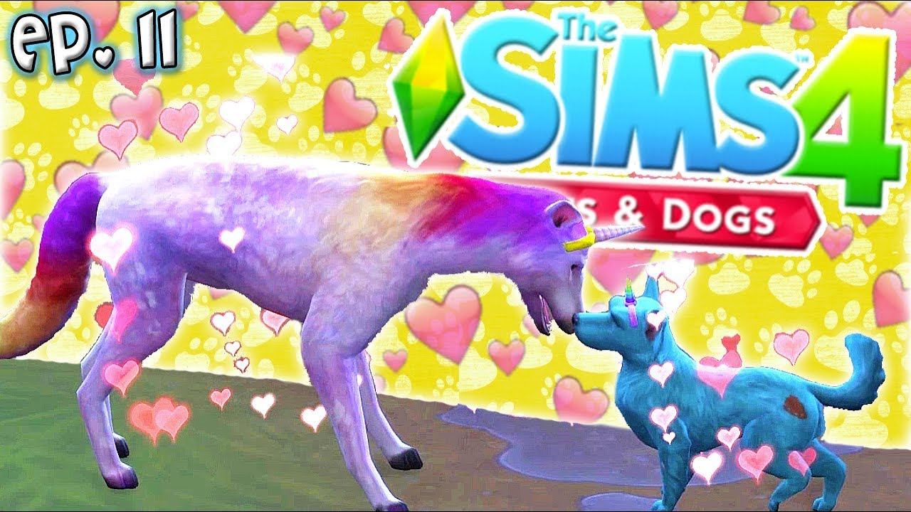 Unicorn Puppies The Sims 4 Raising Youtubers Pets Ep 11 Cats