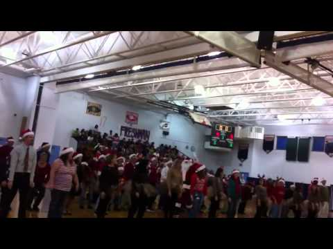 Overbrook senior high school 2013 Christmas pep rally