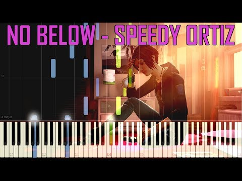 No Below - Speedy Ortiz (OST Life Is Strange Before The Storm) [Synthesia Piano Tutorial]