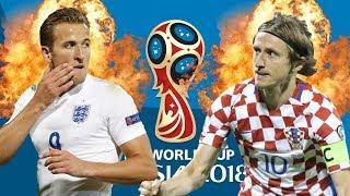 PRONOSTIC : ANGLETERRE 🏴 VS CROATIE 🇭🇷 1/2 FINALE COUPE DU MONDE 2018 🏆