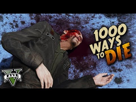 1000 MANERAS DE MORIR EN GTA V #2 GRAND THEFT AUTO 5 thumbnail