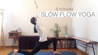 リフレッシュヨガ | 6 MINUTES SLOW FLOW YOGA 相楽のり子 動画 28