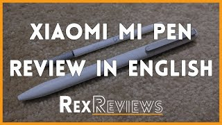 Xiaomi Mijia Pen English Review | Aliexpress Product Reviews