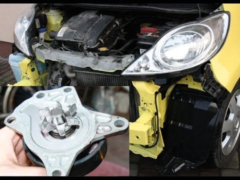 How to replace water pump on 1.0 12V - Aygo, Yaris, Peugeot 107, Citroen C1, Sirion