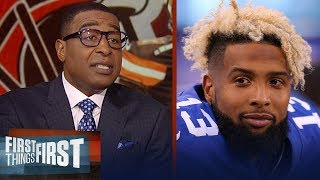 Cris Carter on Odell Beckham Jr. taking the Browns to a new level   NFL   FIRST THINGS FIRST