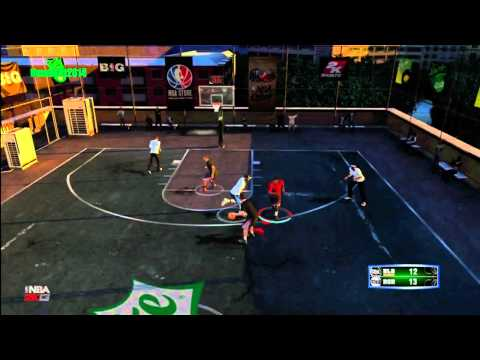 NBA 2K13 MyPlayer Blacktop Live: Chris Smoove and Dman Run The Court! (Highlights) #NBA2K13