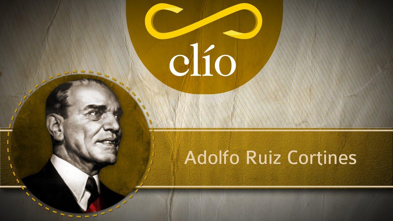 Minibiografia Adolfo Ruiz Cortines Youtube