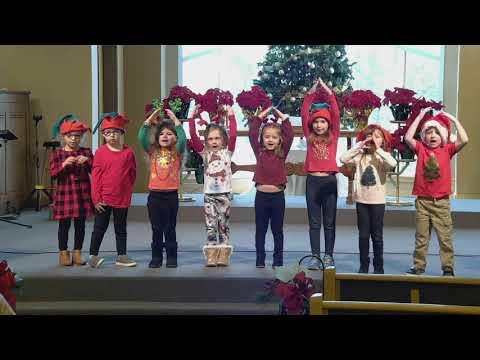 Taylor Chapel Preschool Christmas Program.