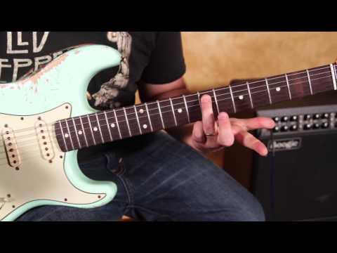 How to Play - Voodoo Child (Slight Return) by Jimi Hendrix -  Main Riff - Strat Eb tuning