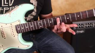 How to Play - Voodoo Child (Slight Return) by Jimi Hendrix -  Main Riff - Strat Eb tuning
