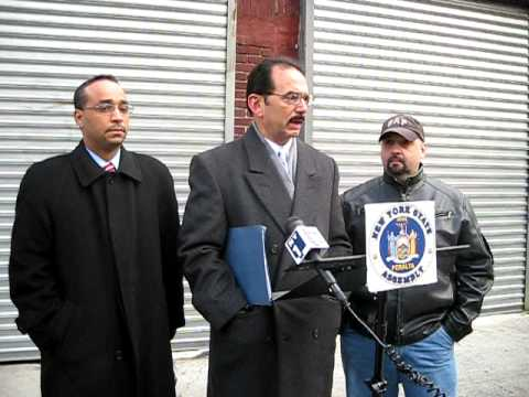 ASSEMBLYMAN PERALTA CALLS ON OBAMA TO SECURE NYS PORTS - JIM MINGIONE - FEDERAL MARITIME COMMISSION