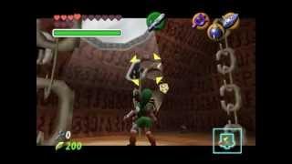 Zelda Series (OoT) Ep 58 - Queime a Deusa Serpente, Chegue a Porta do Chefe!